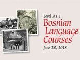 Bosnian language course for foreigners – IUS, June 28, 2018